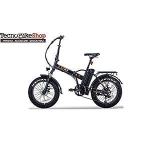 41c2679kzGL. SS300 Tecnobike Shop Bici elettrica a Pedalata Assistita Pieghevole LEM Orlando Confort Fat-Bike Folding 250W 36v 10Ah…