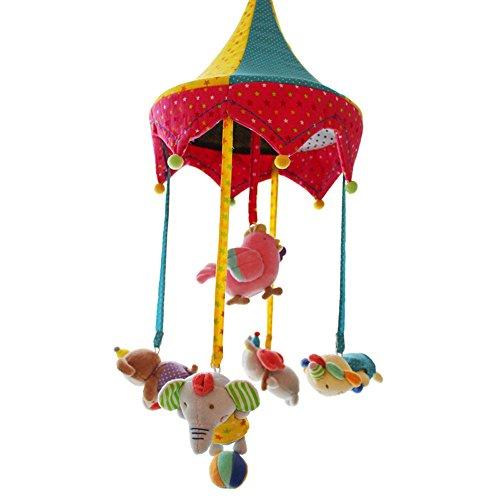 SHILOH Baby Musical Crib Mobile Rotating Bedbell for Co-slee