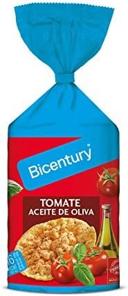 Bicentury – Tortitas Maíz Tomate Con Aceite