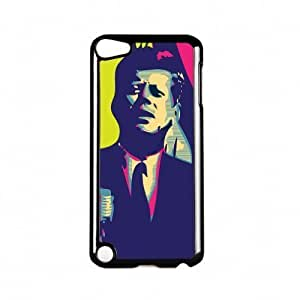 President Kennedy Black Hard Plastic Case Snap-On Protective Back Cover for Apple? For Iphone 5C Case Cover Gen by Nick Greenaway + FREE Crystal Clear Screen Protector