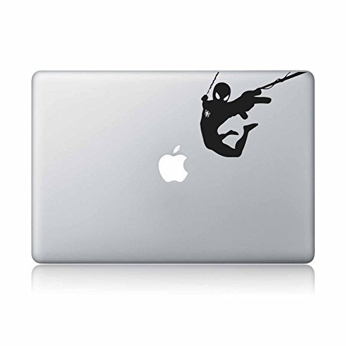 Spiderman-apple macbook laptop vinyl sticker decal