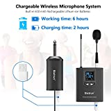 Wireless Lavalier Microphone, Headset Mic, Clip