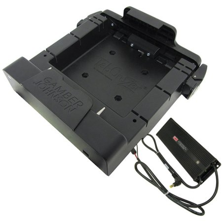 Gamber Johnson ET50/55 10 Cradle w/Power Includes Lind Power Supply, 7170-0524 (Includes Lind Power Supply Forklift 12/32 VDC Isolated Power Input only, no Port Replication)