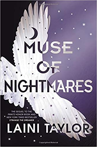 Image result for book cover muse of nightmares