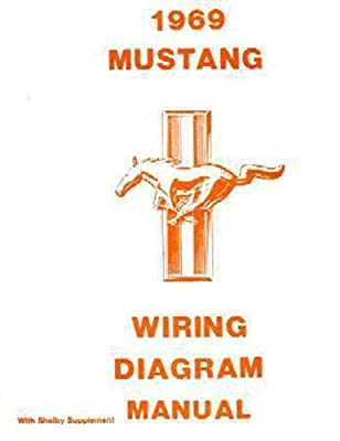 amazon com 1969 ford mustang shelby electrical wiring diagrams wiring diagram for 1989 ford mustang amazon com 1969 ford mustang shelby electrical wiring diagrams schematics manual book oem automotive
