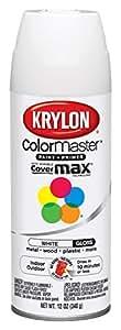 Krylon Interior/Exterior Enamel Spray Paint 12 oz Gloss White