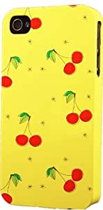 Cherries Pattern Dimensional Case Fits Apple iPhone 5 or iPhone 5s