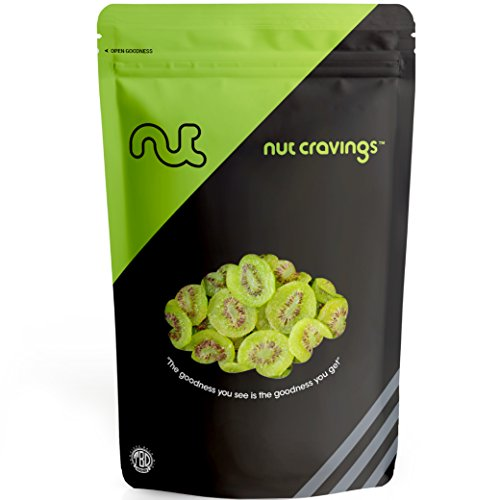 Nut Cravings - Dried Kiwi Slices – Sweet, Healthy Dehydrated Fruit Snacks – SAMPLER SIZE ()