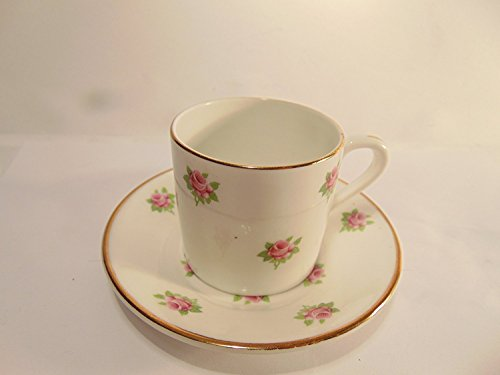 Rosina Bone China Cup (Rosina Fine Bone China Pink Rose Tea Cup & Saucer Set)