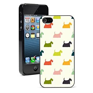 For Apple iPhone 4 4S Hard Case Cover Scottie Scottish Terriers