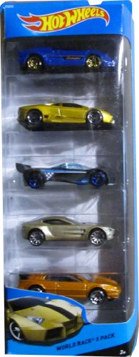 Hot Wheels, 2014 World Race 5-Pack (Diecast Mazda Furai compare prices)