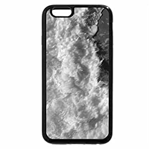 iPhone 6S Case, iPhone 6 Case (Black & White) - ocean from above