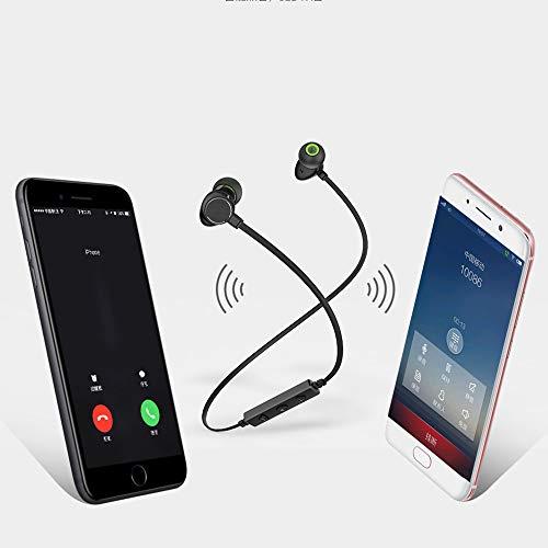 Amazon.com: Insaneness for Running Cycling Earphone,AWEI WT30 Wireless Bluetooth Anti-Sweat CVC Smart Noise Cancelling Headphones (Black): Clothing