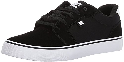 DC Mens Anvil Action Sports Shoe, Negro/Blanco/Negro, 40 D(M) EU/6.5 D(M) UK