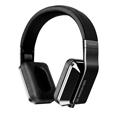 Monster Inspiration Active Noise-Canceling Over-Ear Headphones, Titanium