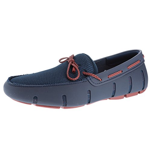Braided Loafers Red Lacquer SWIMS Men's Lace Navy 0qSnA5a8