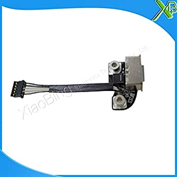 Cable Length Black Connectors TPFEEL DC Board for MacBook Pro A1286 A1278 AC DC in Power Port Plug Socket Jack Board 820-2565-A