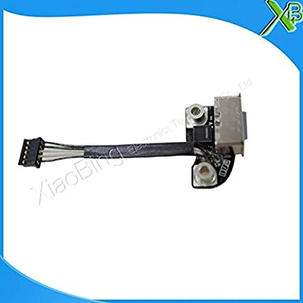 Cable Length: Standard ShineBear New DC Power 820-2565-A for MacBook Pro 13 15 A1278 A1286 Power DC Jack DC-in Board Connector 2009-2012years