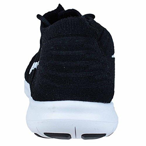 Free Chaussures noir Femmes Fonc W Flyknit De gris Blanc volt Course Rn Pour Motion Nike Noir RqStqr