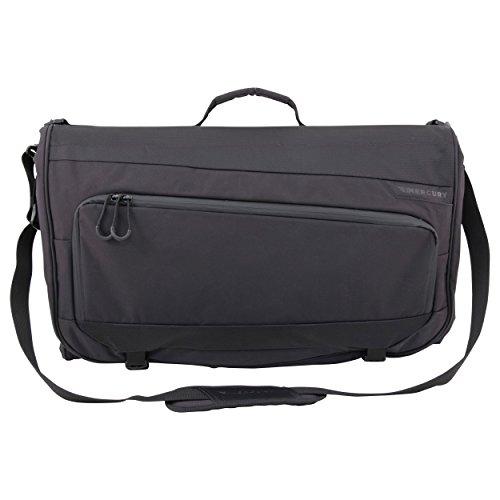 Mercury Luggage Trifold Garment Bag, Black