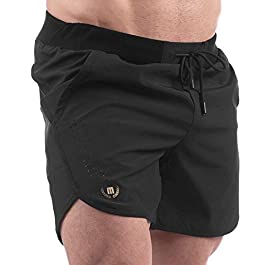 MAVA Men's Shorts for Basketball, Workout, Running, Gym Shorts with Loose Fit