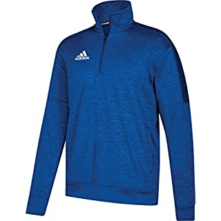 adidas Mens Athletics Team Issue 1/4 Zip Long Sleeve