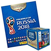 PANINI 2018 FIFA WORLD CUP RUSSIA ALBUM AND STICKERS (50 packets x 5 stickers)