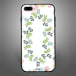 iPhone 8 Plus Printed Leaves