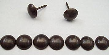 100 Qualitäts Ziernägel Polsternägel Nagel 11mm bronze antik Made in Germany