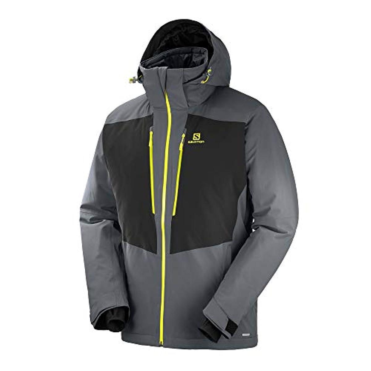 [해외] 살로몬SALOMON 스키 웨어 맨즈 재킷 ICEFROST JACKET MEN 아이스 프로스ROSS트 재킷 맨즈 2018-19년 모델 사이즈S~XL