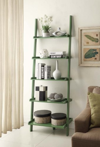Convenience Concepts French Country Bookshelf Ladder,