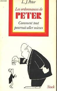 Les ordonnances de Peter par  Laurence J. Peter
