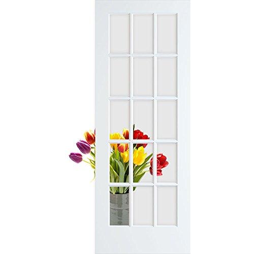 5 lite glass door - 9