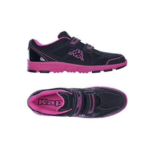 Zapatos de Deporte - Kappa4training Vaporal V Kid - Niños BLACK-FUXIA