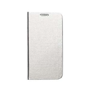 """Zenus Schutzhülle """"Metallic Diary"""" en hellsilber für Samsung Galaxy S6 SM-G920F"""