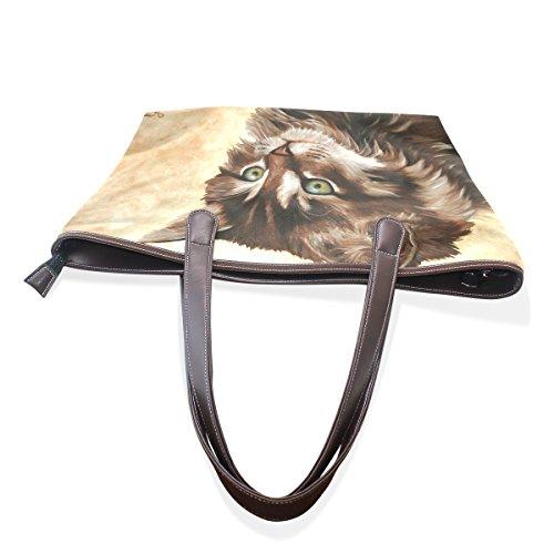 COOSUN - Bolso de tela para mujer muticolour M(40x29x9)cm