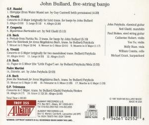 Bach on the Banjo by Albany Records