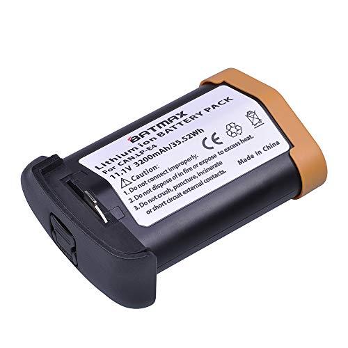 Batmax 1Pack 11.1V 3200mAh LP E4 LP-E4 E4N Li-ion Battery for Canon LP-E4 and LP-E4N Battery; Canon EOS 1D Mark III, EOS-1D Mark IV, EOS 1Ds Mark III, EOS 1D C, EOS 1D X Cameras (Lp E4 Replacement)