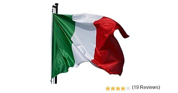 ITALIA BANDERA 100 X 150 CM, POLIÉSTER COLGANTE: Amazon.es: Hogar