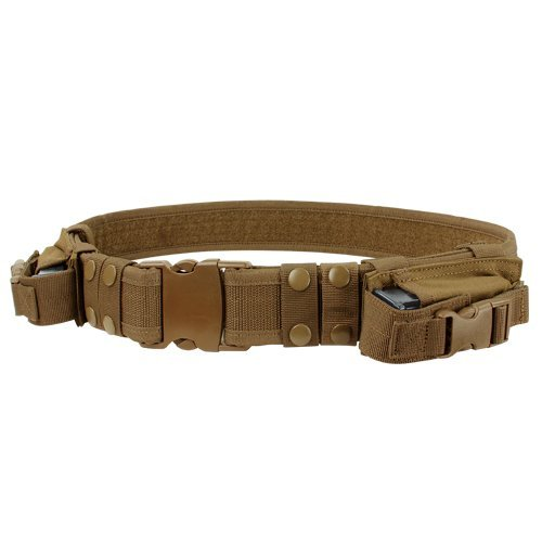 Condor Outdoor Tactical Belt One Size Coyote Brown