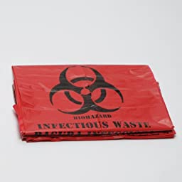 Biohazard Bags Approved 24x24 10 per package