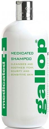 Gallop–antibacteriano Champú médico para caballos, 500ml–Un Champú PH de tejido, ideal para seca, schuppige, krustige, picores, irritados y piel sensible