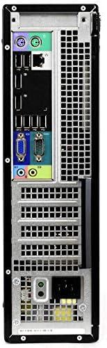 """Dell OptiPlex 7010 PC Desktop Computer, Intel i5-3470 3.2GHz, 8GB RAM, 1TB HDD, Windows 10 Pro, New 23.6"""" FHD LED Monitor, Wireless Keyboard & Mouse, New 16GB Flash Drive, DVD, Wi-Fi (Renewed)"""