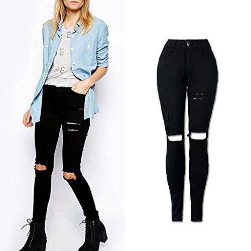 SKYlive - Jeans - Femme Noir
