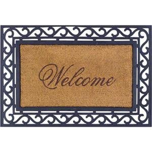 Bacova Guild 17806 Koko Framed Welcome Mat