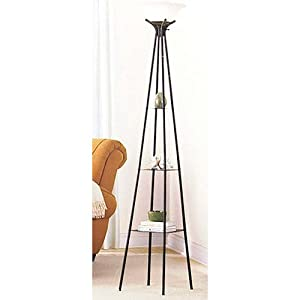 High Quality Mainstays Etagere Floor Lamp
