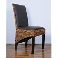 International Caravan SG-3331-1CH-IC Furniture Piece Salma Abaca Dining Chair