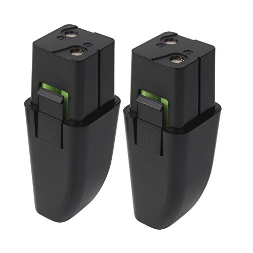 Replacement Battery for Ontel Swivel Sweeper G1 & G2 - Compatible with Ontel RU-RBG Battery (7.2V, NIMH, 2000mAh). 2 Pack ()