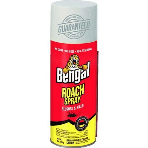 Bengal Gold Roach Spray 4-Pack Model #92464 (4) BEST Roach Killer on Amazon SAVE $$$ by Bengal Gold