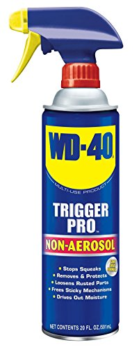 - WD-40 Multi-Use Product Non-Aerosol Trigger Pro Spray. 20 oz. [1-Pack]